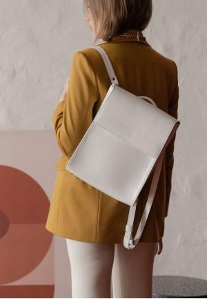 Жіночий білий рюкзак Tammy